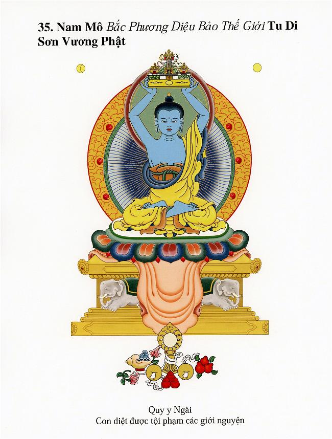 Danh Hiệu 35 Vị Phật (35)