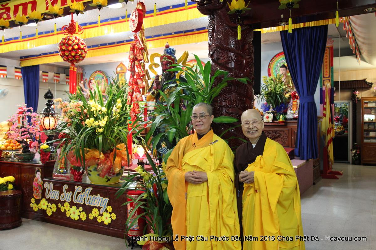 Chua Nam Da: Hành Hương Lễ Phật Đầu Năm 2016 Chùa Phật Đà