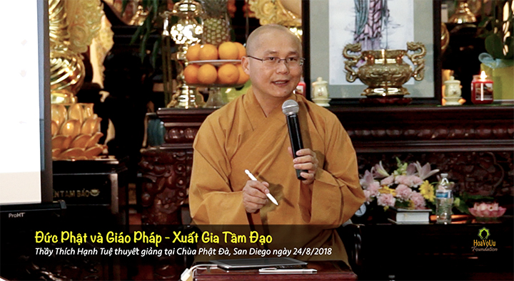 Thich Hanh Tue Xuat Gia Tam Dao
