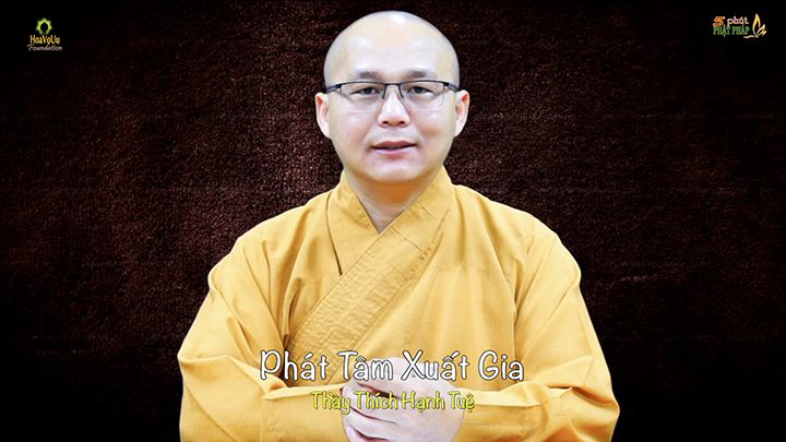 Thich Hanh Tue 445 Phat Tam Xuat Gia